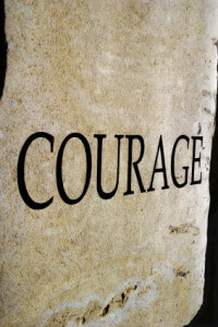 Character traits series - COURAGE